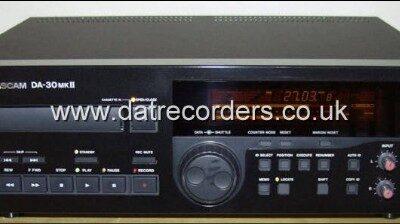 Tascam DA30 MK2 DAT Recorder