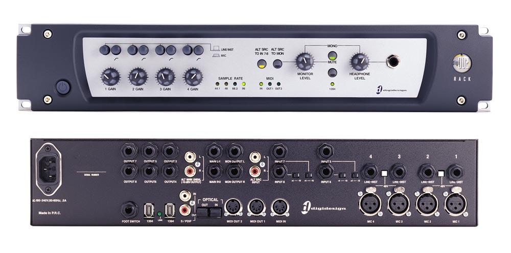 Digi 002R Interface